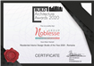 "Noblesse Group  desemnat ""Residential Interior Design Studio of The Year 2020 - Romania"""